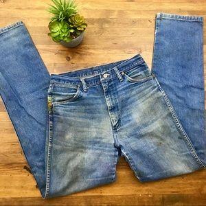 Wrangler VTG Mom Jeans High Waist Distressed 4/6